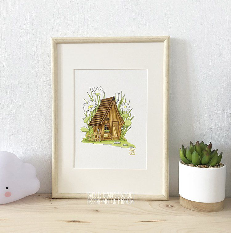 Illustration La maison du lutin
